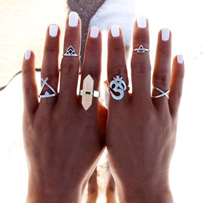 Sada dámských prstenů