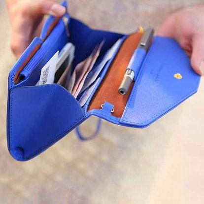 Dámská peněženka ve tvaru psaníčka - 12 barev