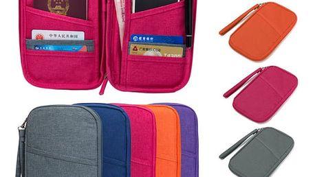 Cestovní pouzdro na doklady - 5 barev