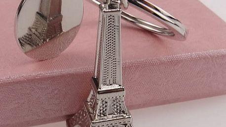 Přívěsek na klíče s Eiffelovou věží