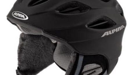 Lyžařská helma Alpina Cybric, 54-57, černá