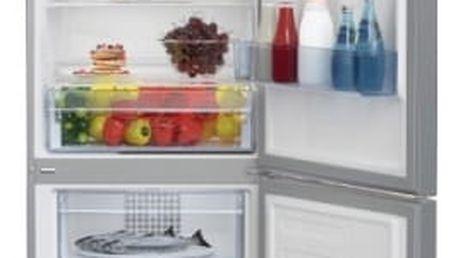 Kombinace chladničky s mrazničkou Beko RCNA 365 K30XP titanium
