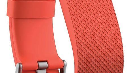 Fitbit Charge HR, S, oranžová - FB405TAS-EU
