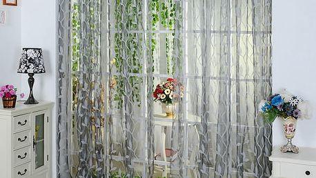 Dlouhý závěs do okna nebo dvěří 200 x 100 cm - 4 barvy