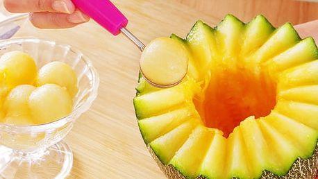 Nůž na kreativní rozřezání melounu