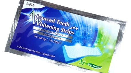 Bělící pásky na zuby - 28 ks