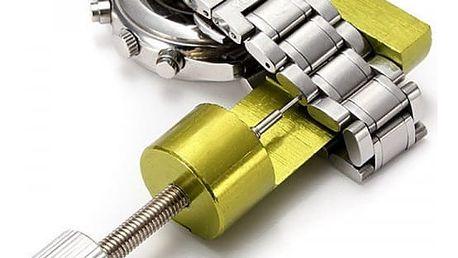 Sada nástrojů pro úpravu pásku u hodinek