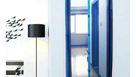 3D dveřní závěs