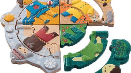PLAN TOYS Puzzle - Oblékání podle počasí