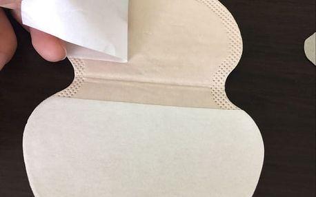 Balení polštářků do podpaží