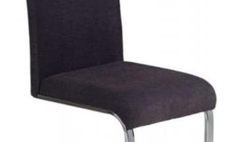 Kovová židle K110 grafitová