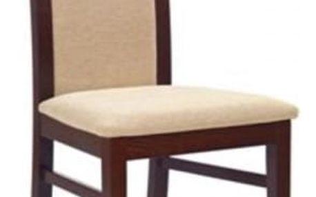 Dřevěná židle Albert tmavý ořech