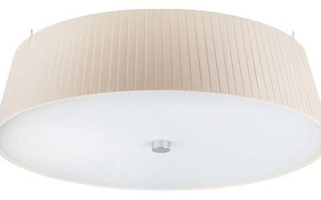 Krémové stropní svítidlo Bulb Attack Dos Plisado,⌀45cm - doprava zdarma!
