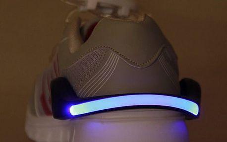 Bezpečnostní LED pásek na obuv