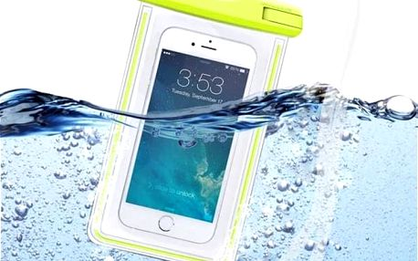 Vodotěsné pouzdro pro smartphony do 5,5 svítící ve tmě - různé barvy