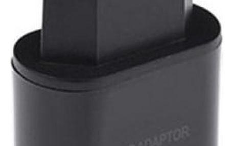 Síťová nabíječka s USB portem (EU, US verze) – více barev