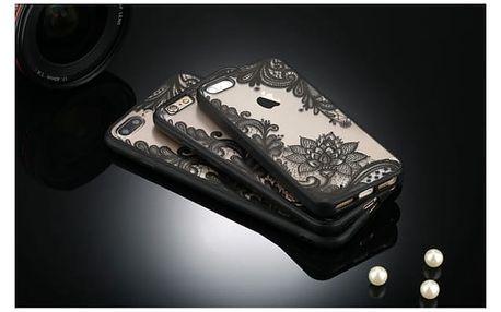 Kryt na mobilní telefon s květinovými motivy - iPhone 7, 7+, 6, 6+, 6s, 5, 5s, SE