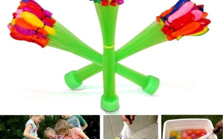 Kouzelné balonky na vodní hadici - dodání do 2 dnů