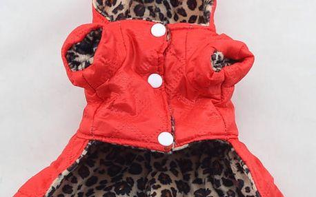 Psí obleček s leopardím vzorem - 5 velikostí