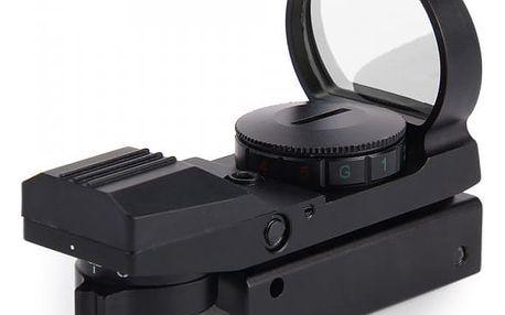 Lovecký kolimátor na zbraň s možností výběru zaměřovacího bodu a barvy