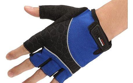 Cyklistické unisex rukavice s gelovými polštářky