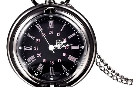 Kapesní hodiny s nádherným ciferníkem - dodání do 2 dnů