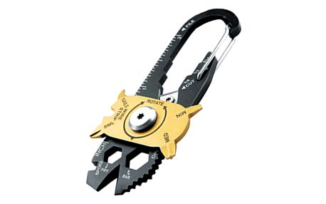 Multifunkční klíčenka (20 různých druhů nástrojů v 1)
