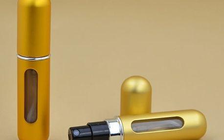 Plnitelný prázdný flakón s rozprašovačem - 12 barev