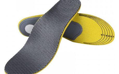 Prodyšné zdravotní vložky do bot