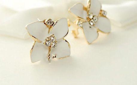 Náušnice - romantické květiny