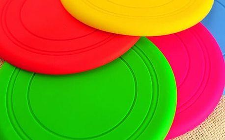 Silikonový létající talíř pro pejsky - 4 barvy