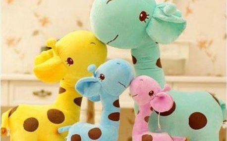 Plyšová žirafka - vaše děti ji budou milovat!