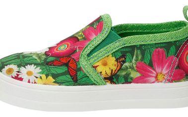 Desigual zelené dívčí boty Lona 2 - 24
