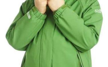 Dětská zimní bunda 3v1 Regatta RKP104 CODEBREAKER ExtGrn 5-6y
