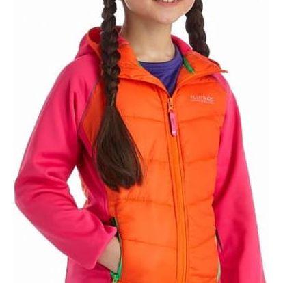 Dětská bunda Regatta RKN035 KIELDER Crayon/Jem 9-10y