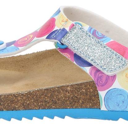 Desigual barevné dívčí pantofle Bio 3 - 30