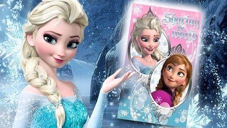 Deka s motivem Frozen