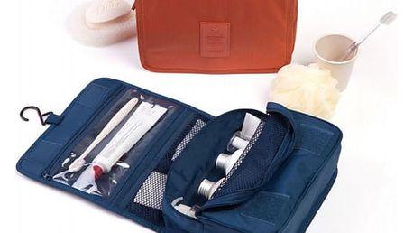 Kosmetická taška na cestování - závěsná