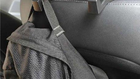 Plastový věšáček do auta - 3 barvy
