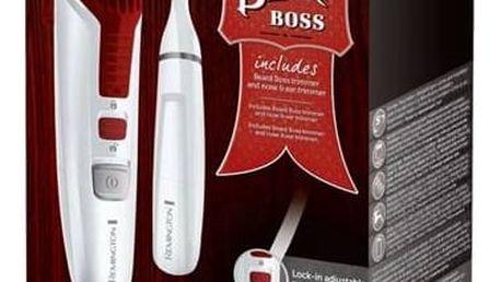 Zastřihovač vlasů Remington Beard Boss MB4122 bílý