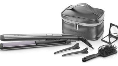Žehlička na vlasy Remington PRO Ceramic Titanium S5506GP šedá