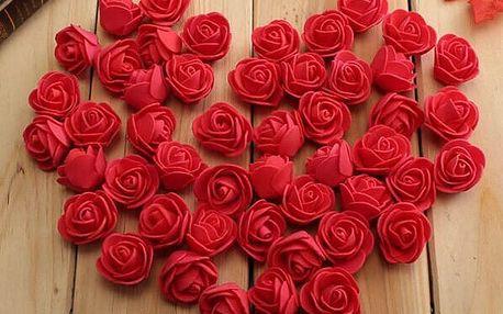 Umělé růžičky pro romantické duše