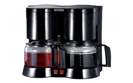 Kávovar Severin KA 5802 černý + Doprava zdarma