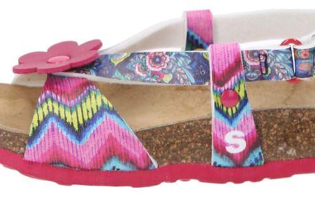 Desigual růžové dívčí sandálky Bio 3 - 27