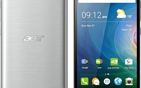 Smartphone Acer Liquid Z630 DS LTE Silver