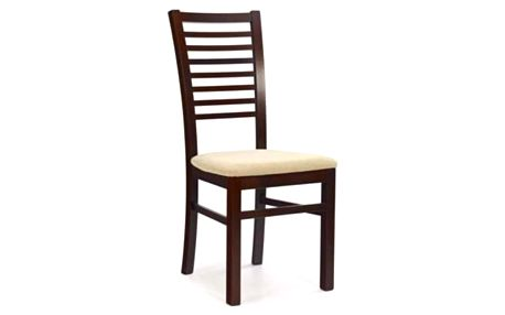 Dřevěná židle Gerard 6 tmavý ořech