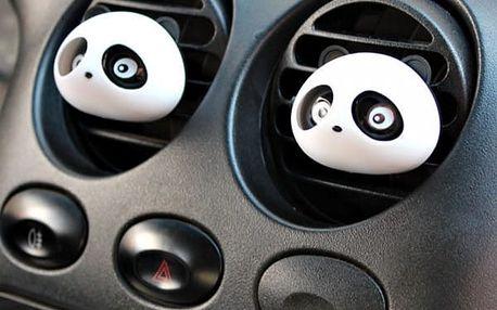 Osvěžovač vzduchu do auta v podobě pandiček