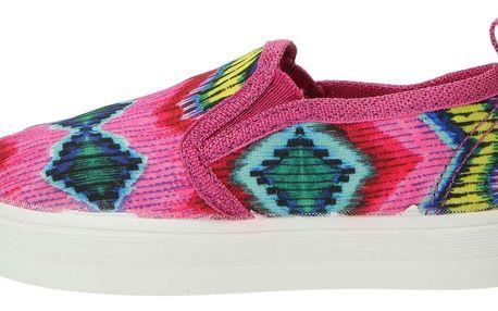 Desigual růžové dívčí boty Lona 2 - 31