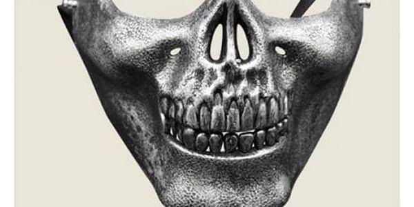 Maska v podobě lebky - 5 barev