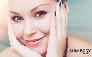Kompletní kosmetický balíček včetně líčení ve studiu Slim Body v Brně